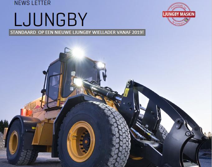 Standaard op een Ljungby Maskin vanaf 2019!