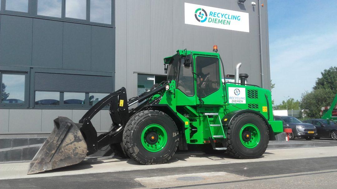 Een groene L11 voor Milieu Service Nederland