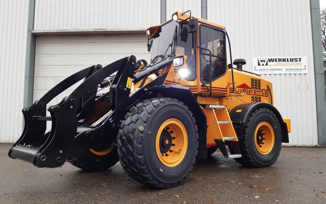 Een nieuwe Ljungby L11 voor Mud Rijplaten Service